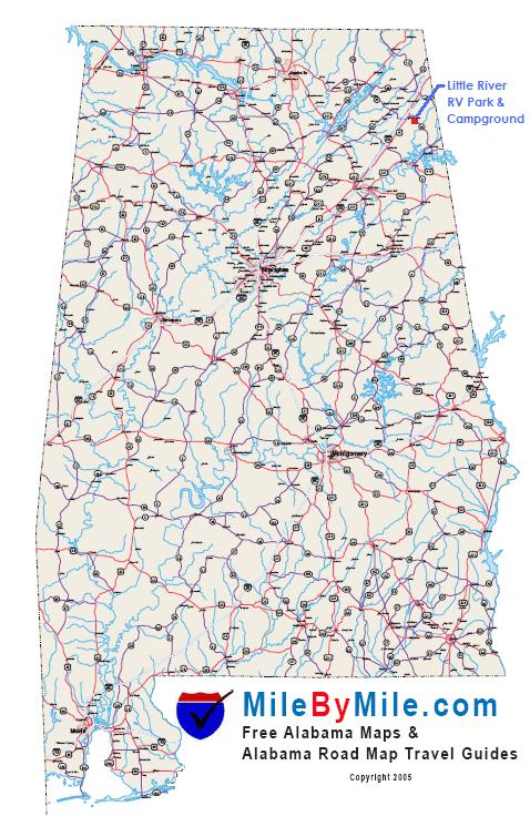 Alabama State Highway Map Missouri Map - Road map of alabama